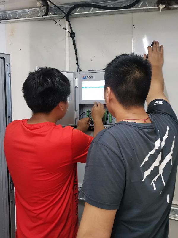 环境在线监测项目施工