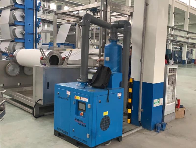 新型格兰斯特螺旋真空泵系统较传统真空泵系统节能率一
